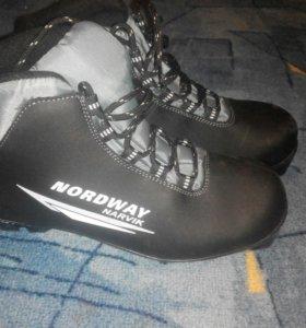 Ботинки лыжные nordway narvik