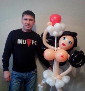Подарки из воздушных шаров.