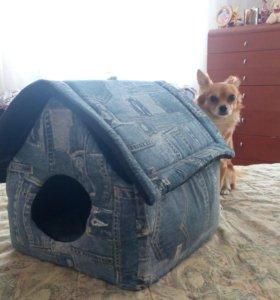 Домик для кошки - маленькой собачки