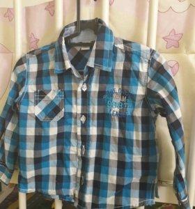 Рубашки 6-12мес