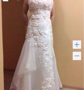 Свадебное платье 44-46