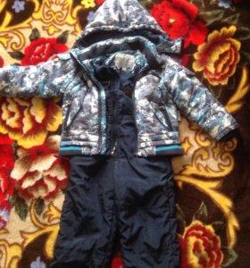 Куртка с комбинезоном(весна-осень)