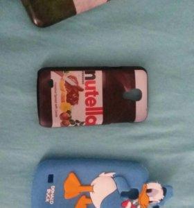 Чехлы на телефон  samsung s 4 mini