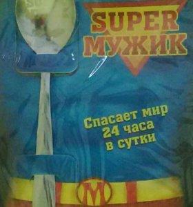 """Ложка сувенирная ,,super мужик"""""""