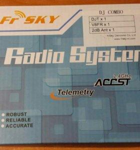 FrSky DJT 2.4Ghz комбо-комплект для JR с модулем т