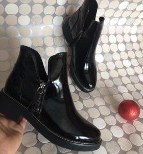 Новые лакированные ботинки! Моднюююючие⚡️