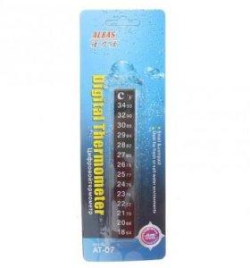 Термометр наклейка в блистере для аквариума ат-07