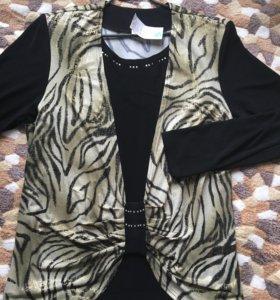 Блуза новая 62
