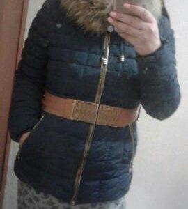Зимний пуховик 44-48р