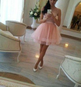Шикарное платье XS!