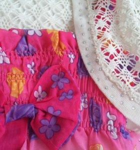 Нарядное платье для девочки на рост 96-98 см.
