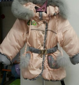 Б/у зимняя куртка