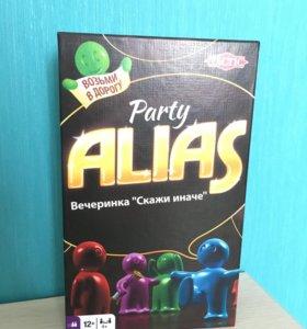 Игра настольная Party Alias новая