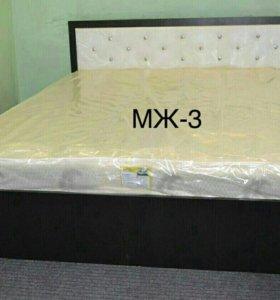 Кровать 1600x2000 с матрасом