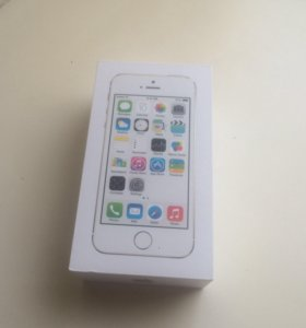 Коробка от IPhone Gold 5s