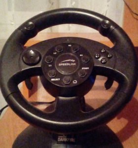 Игровой руль.