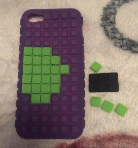 Чехол для iPhone 5/5s/5se силиконовый