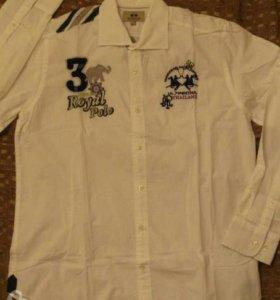 0. Мужская рубашка итальянского бренда La Martina.