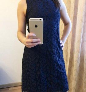 Платье кружевное английского бренда F&F