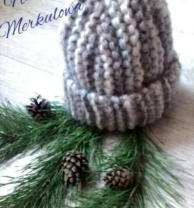 Комплект шапка+ шарф.