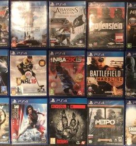 Игры на Sony PlayStation 4/Ps4