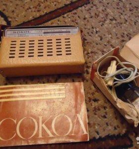 Раритетный Радиоприемник Сокол
