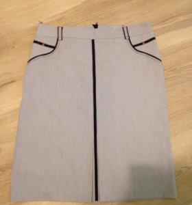 Юбка и блузка, размер 54-56
