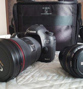 Canon EOS 5D Mark III + canon 24-70 II + canon 50