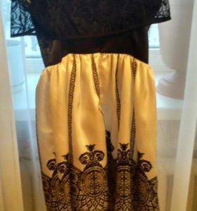 Платье +накидка