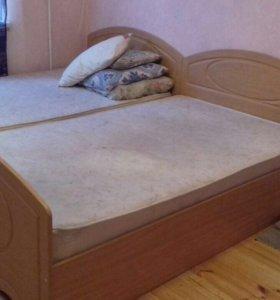 Кровати 1,5