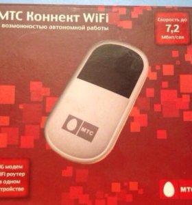 3G модем, WiFi роутер МТС