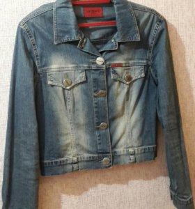 Куртка джинс, р-р 46