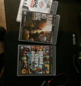 Игры для PS3 дешевые на фотографии не все