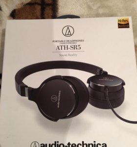 Audio-Technica ATH-SR5BK(чёрные)