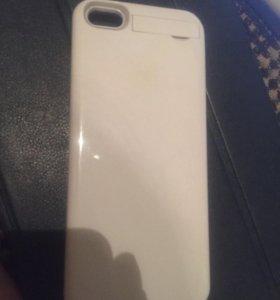 Чехол зарядка на iPhone 5-5s