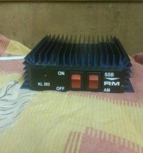 Усилитель 100w (помошник или кирпич)для радиостан