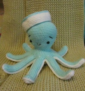 Вязаный крючком осьминог 🐙