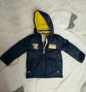Новая весенняя куртка 86р-р