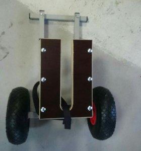 Тележка для лодочного мотора под АКП.