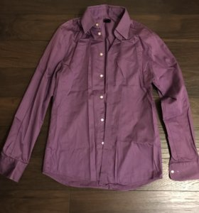 Рубашка фиолетовая hm