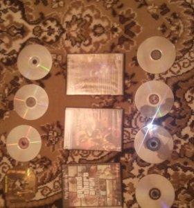 Продам диски с играми!!!