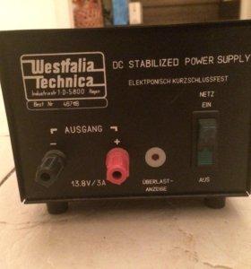 Блок питания Westfalia Technica для радиостанции