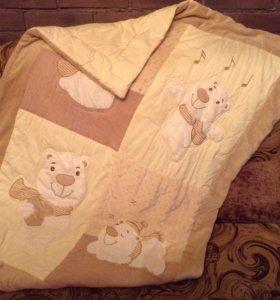 Стёганное одеяло детское