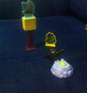 Энгри бёрдц птички 1 мешень в подарок