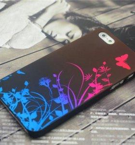 Чехол для iphone 5, 5s с бабочкой