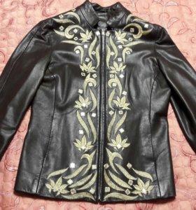Кожаная куртка жен