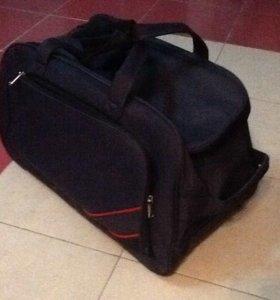 сумка на колесах Новая