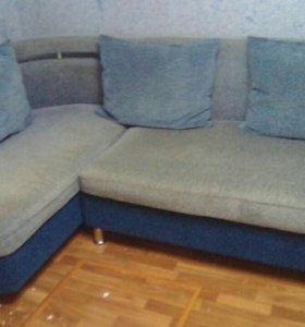 Угловой диван б/у торг при осмотре