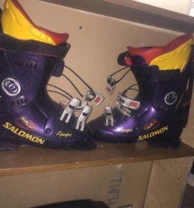 Ботинки для горных лыж salomon 9.1