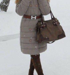 Зимнее пальто 42-44 р